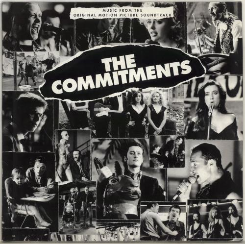 Original Soundtrack The Commitments vinyl LP album (LP record) German OSTLPTH351015