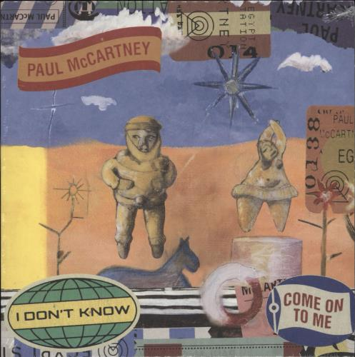 """Paul McCartney and Wings I Don't Know / Come On To Me - RSD BF18 - Sealed 7"""" vinyl single (7 inch record) UK MCC07ID708663"""