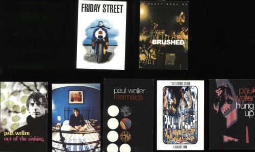 Paul Weller Quantity Of Seven Postcards memorabilia UK WELMMQU720659