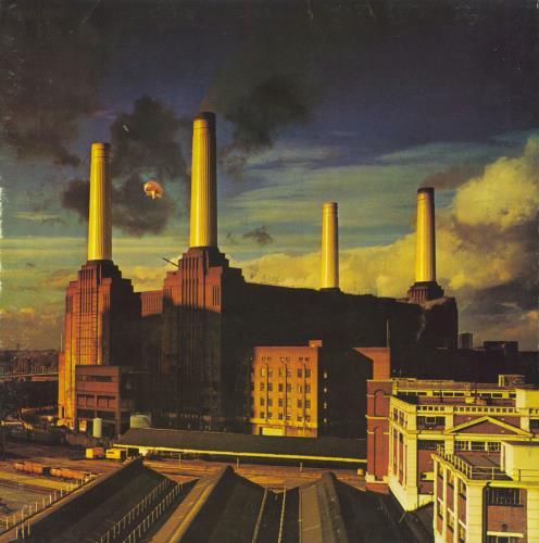 Pink Floyd Animals - 1st - VG vinyl LP album (LP record) UK PINLPAN570482