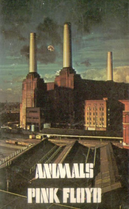 Pink Floyd Animals UK Cassette Album 525483