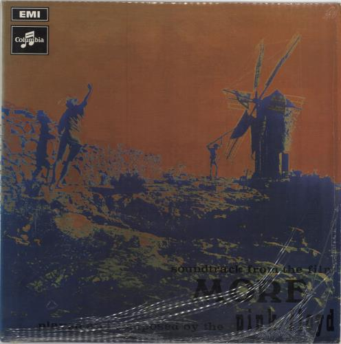 Pink Floyd More 3rd UK Vinyl LP Album LP Record 92758