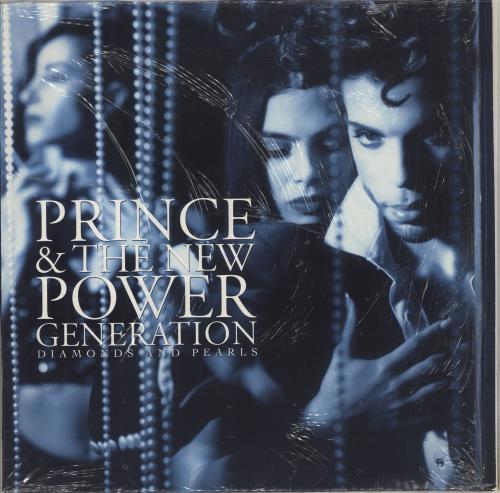 Prince Diamonds And Pearls - EX 2-LP vinyl record set (Double Album) UK PRI2LDI231847