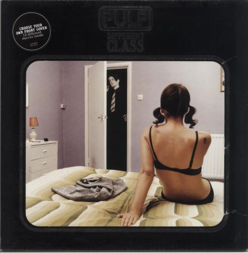 Pulp Different Class - Die-cut Sleeve + Inserts - VG vinyl LP album (LP record) UK PULLPDI712553