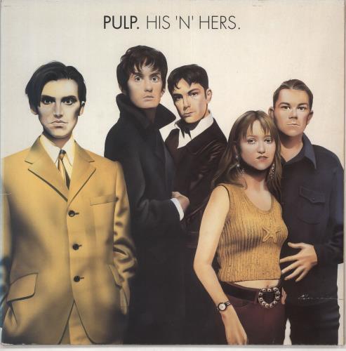 Pulp His 'N' Hers - EX vinyl LP album (LP record) UK PULLPHI618403