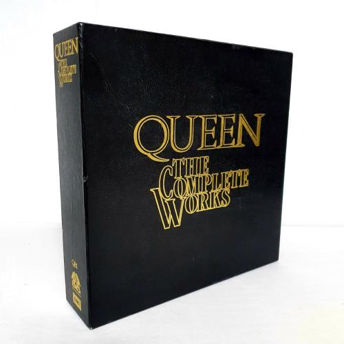 Queen The Complete Works - Complete Vinyl Box Set UK QUEVXTH20244