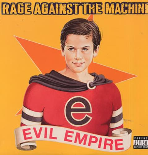 Rage Against The Machine Evil Empire vinyl LP album (LP record) US RAGLPEV313166