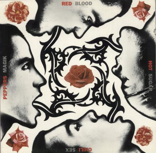 Red Hot Chili Peppers Blood Sugar Sex Magik 2-LP vinyl record set (Double Album) UK RHC2LBL315489