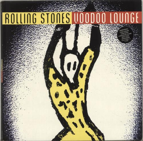 Rolling Stones Voodoo Lounge - Hype Stickered - EX 2-LP vinyl record set (Double Album) UK ROL2LVO701193