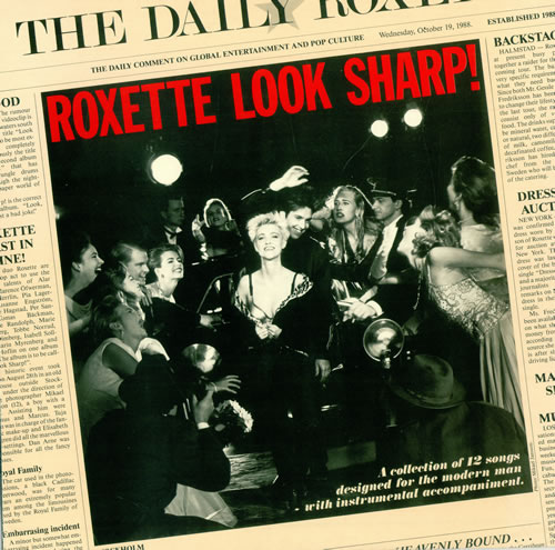 Roxette Look Sharp! vinyl LP album (LP record) UK ROXLPLO494688