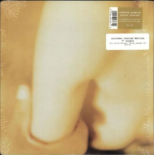 "Smashing Pumpkins Pisces Iscariot + Bonus 7"" vinyl LP album (LP record) US SMPLPPI368259"
