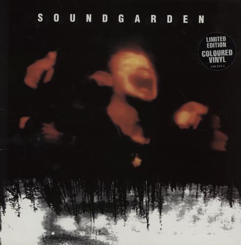 Soundgarden Superunknown - Orange Vinyl 2-LP vinyl record set (Double Album) UK SOU2LSU206165