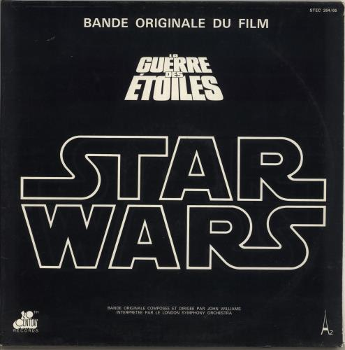 Star Wars Star Wars + Poster - EX 2-LP vinyl record set (Double Album) French WRS2LST717987