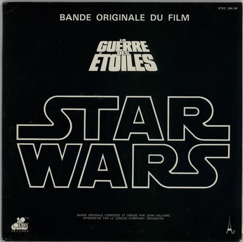 Star Wars Star Wars + Poster 2-LP vinyl record set (Double Album) French WRS2LST612839