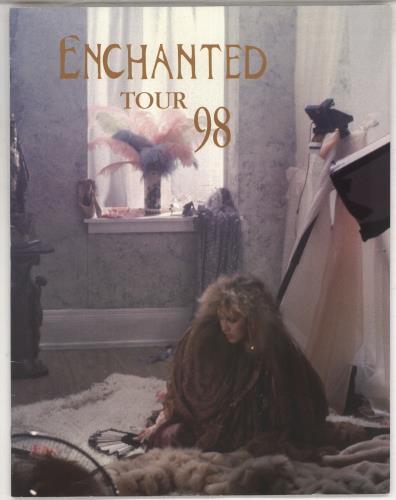 Stevie Nicks Enchanted Tour 98 tour programme US NICTREN734320