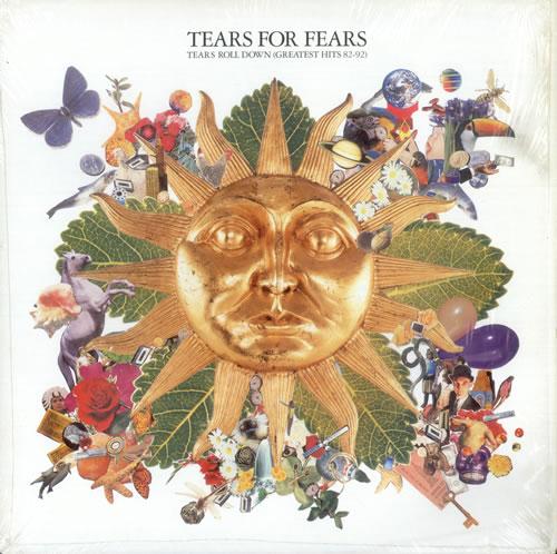 Tears For Fears Tears Roll Down (Greatest Hits 82-92) vinyl LP album (LP record) UK TFFLPTE216743