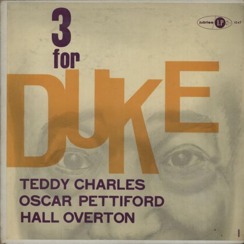 Teddy Charles Three For Duke vinyl LP album (LP record) US TXTLPTH586627