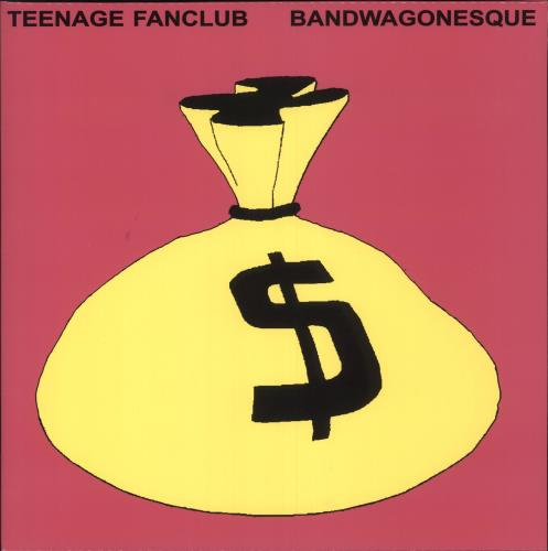 Teenage Fanclub Bandwagonesque - Pink Vinyl vinyl LP album (LP record) UK TFCLPBA746884