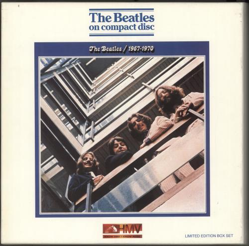 The Beatles HMV Boxed Sets - Complete Set of 12 CD Album Box Set UK BTLDXHM442809