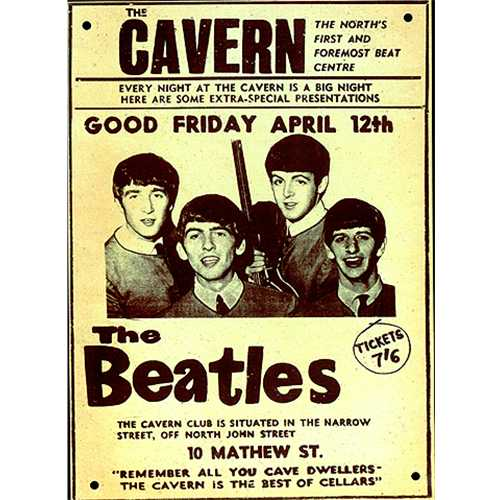 Image result for the beatles the cavern