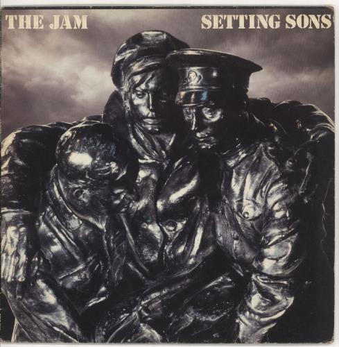 The Jam Setting Sons - Autographed memorabilia UK JAMMMSE731974