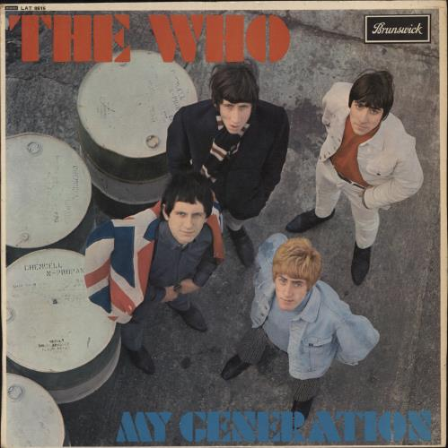 The Who My Generation - EX vinyl LP album (LP record) UK WHOLPMY303257