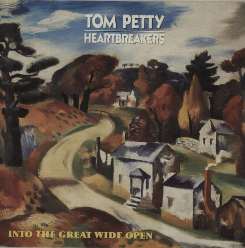 Tom Petty & The Heartbreakers Into The Great Wide Open vinyl LP album (LP record) German PETLPIN658362