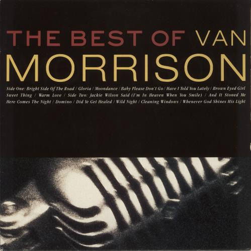 Van Morrison The Best Of Van Morrison - EX vinyl LP album (LP record) UK VMOLPTH682053