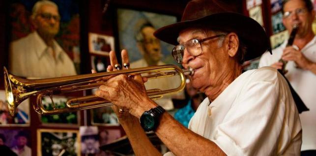 Músico cubano. (Himar Bethencourt)