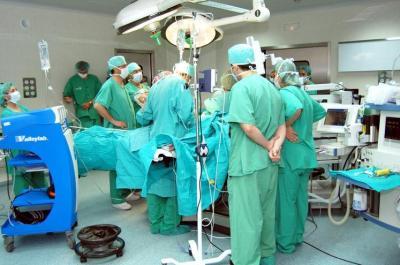 Foto del quirófano en el Hospital de Talavera de la Reina. Foto oficial del SESCAM.