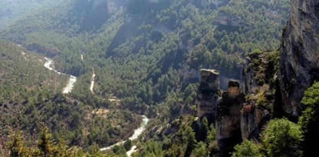 Parque Natural del Alto Tajo. Foto: Ministerio de Agricultura, Alimentación y Medio Ambiente