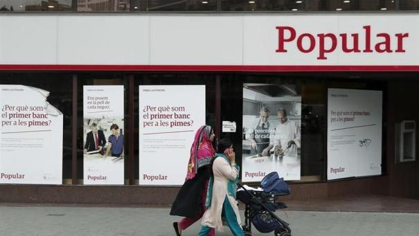 Los accionistas del Popular adquirirán el 77,88 por ciento de los bonos del Santander