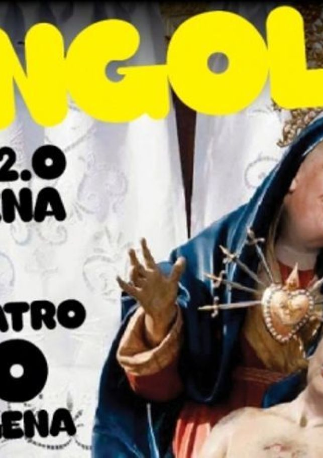Cartel promocional de Mongolia el Musical 2.0 en Cartagena