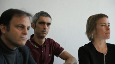 Español, junto a Jaume Asens y Laia Serra
