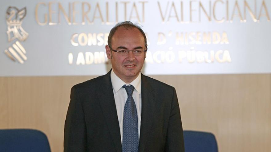 Eusebio Monzó, portavoz del PP en el Ayuntamiento de València