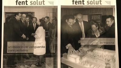 La revista Fem salut contaba las bondades de la sanidad del Gobierno de Francisco Camps.