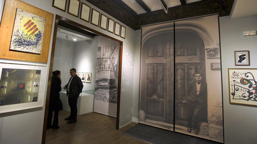 La casa de Joan Fuster, en Sueca, convertida en museo