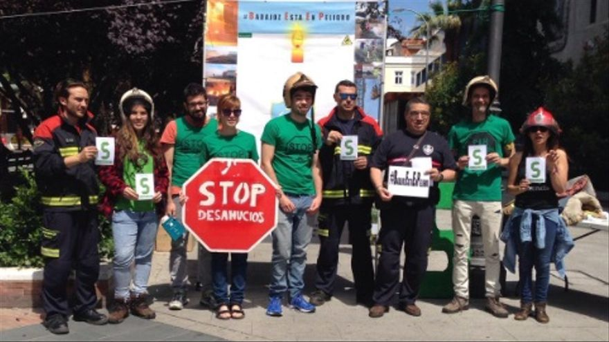 Plataforma de Afectados por la Hipoteca (PAH) de Badajoz