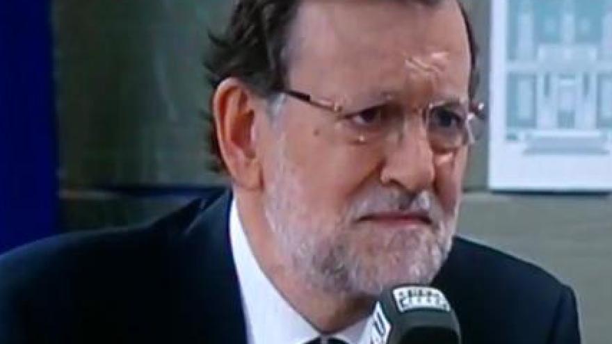 """Rajoy responde al periodista Carlos Alsina sobre el Procés con una pregunta que hizo historia """"¿Y la europea?"""""""