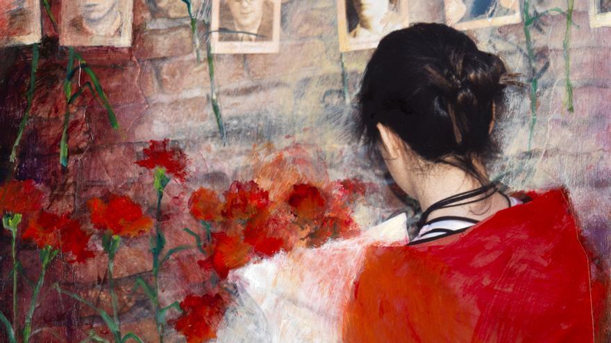 Una de las obras artísticas de Jehanne.