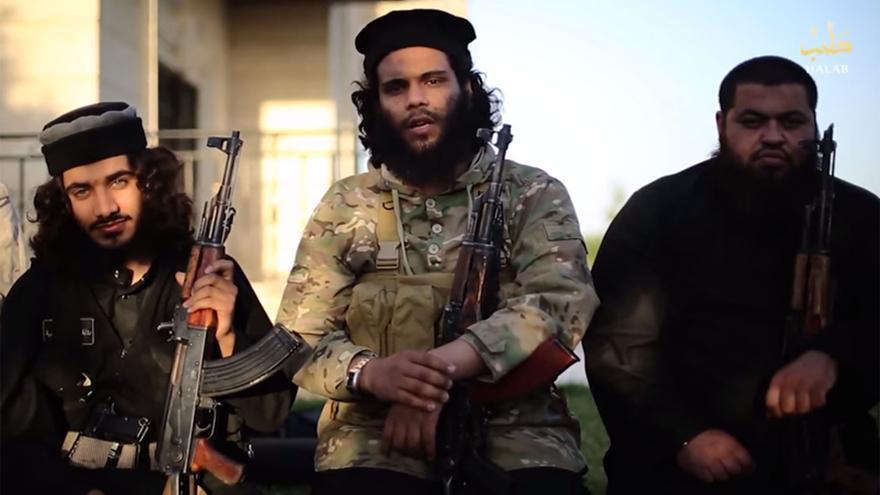 Fragmento de un vídeo del ISIS o Daesh