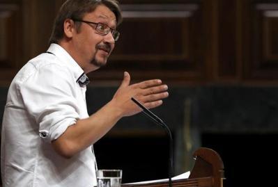Domènech: La DUI no da respuesta al 80 % que apoya el derecho a decidir