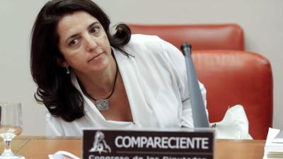 MADRID, 19/08/2015.- La secretaria general de Coordinación Autonómica y Local, Rosana Navarro, durante su comparecencia en la Comisión de Fomento relacionada con el Proyecto de Ley de los Presupuestos Generales del Estado 2016 hoy en el Congreso de los Diputados