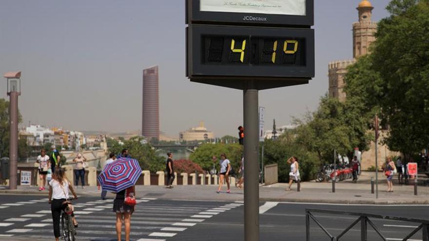 El calor comienza ceder de forma ligera aunque Córdoba y Jaén siguen en rojo