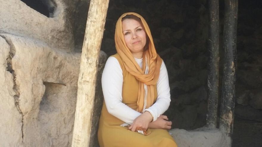 La autora de 'Luz de cenizas', Zahra Yaganah