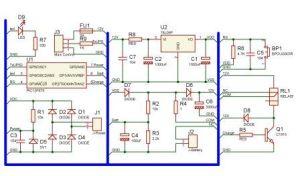 need UPS Circuit diagram