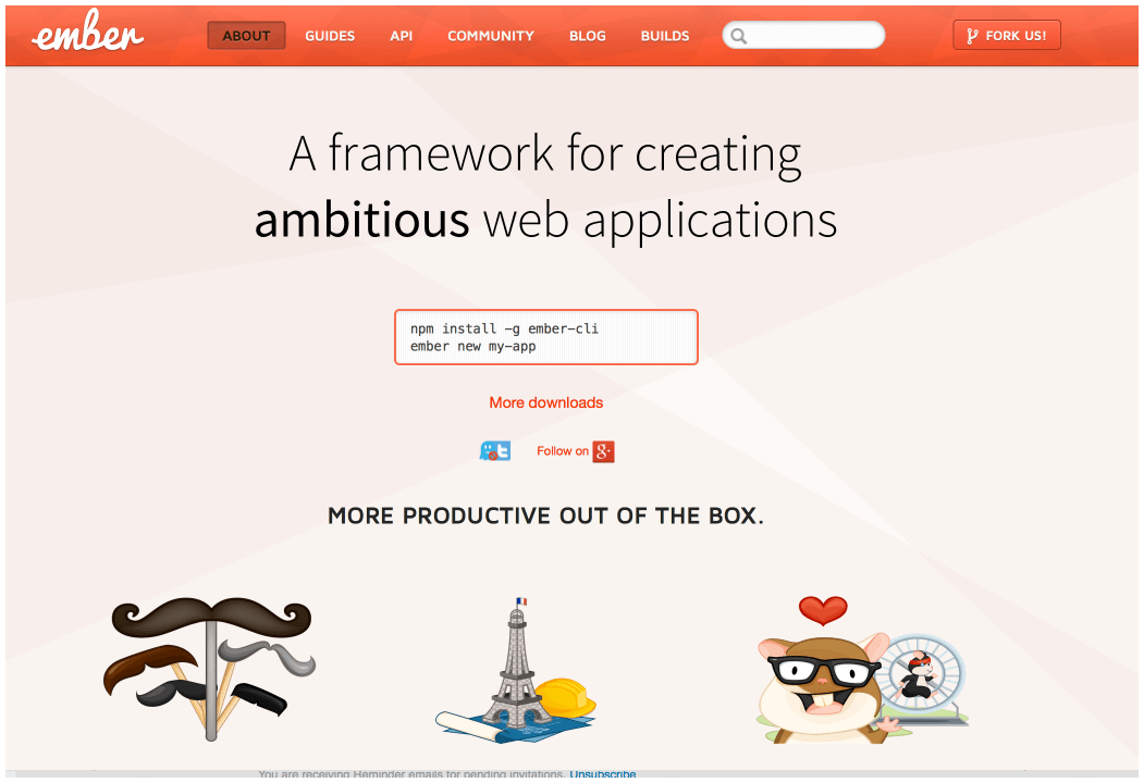 Ember's site