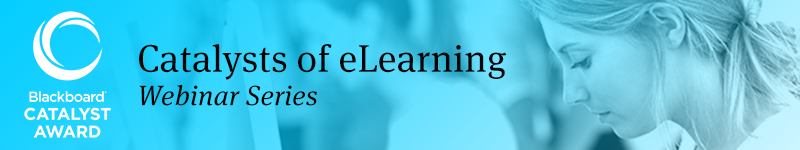 Catalysts of eLearning Webinars Banner