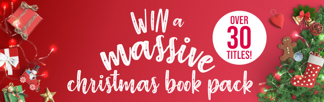 Click to enter our competition to win a massive Christmas book pack with over 30 titles!