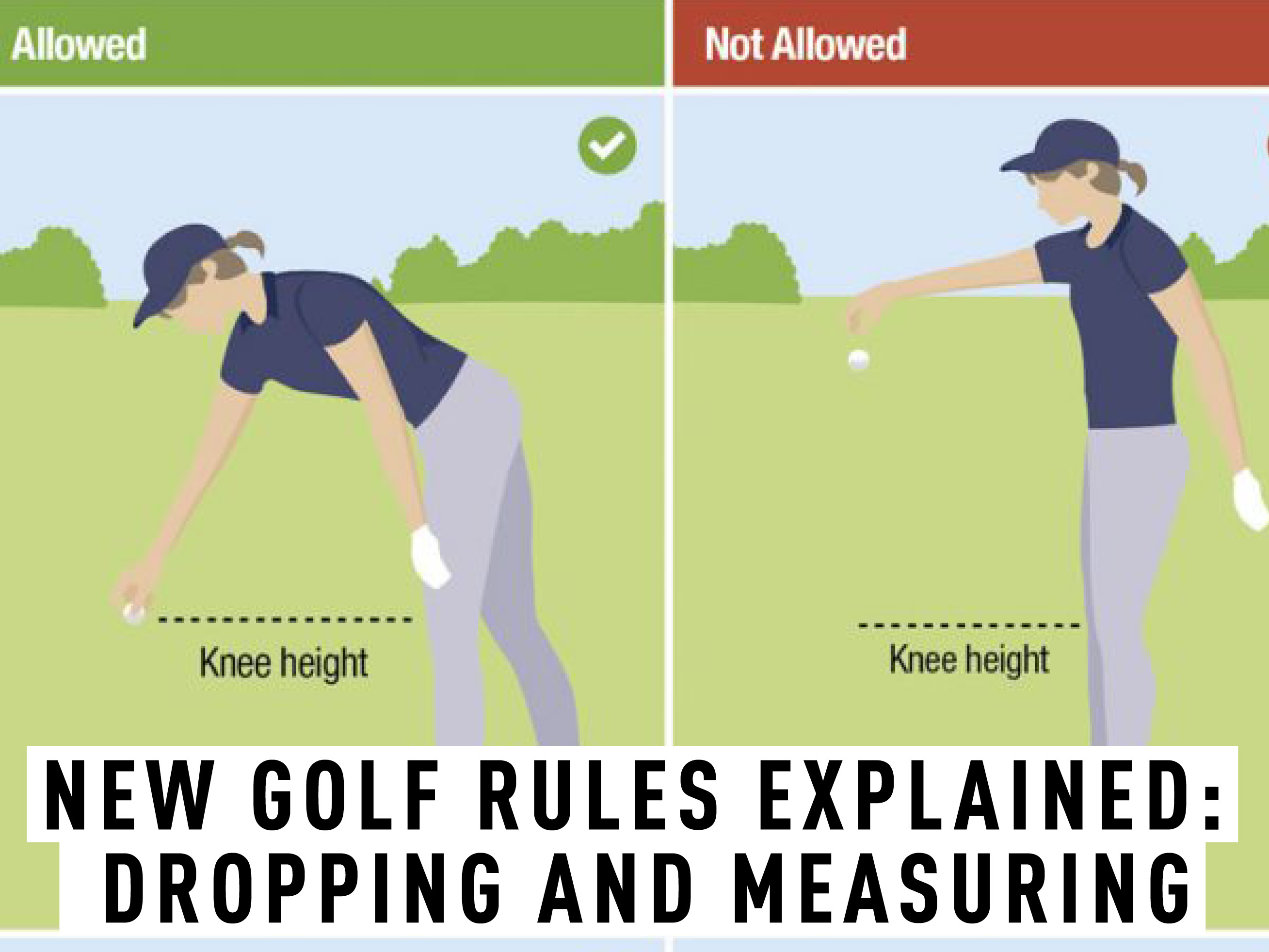 New Golf Rules